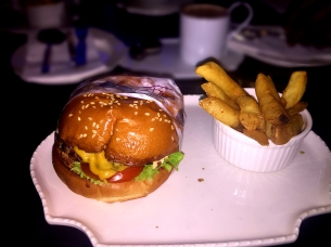 Beef Burger with Triple Cooked Chips