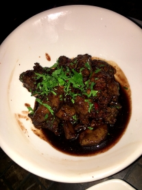 Chicken Liver with Lemon and Garlic Sauce